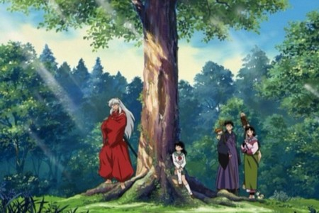 InuYasha group in the summer.