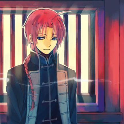 Kamui from gintama he's soo cute but evil and he still my پسندیدہ character <3