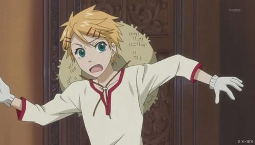 Finian from Kuroshitsuji. x3 So cute~ I named my kitten after him. ^^