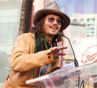 Johnny Depp he's awesome! <3