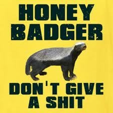 I share Honey Badger's Indifference to this event.