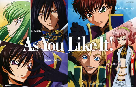 forever and always: Code Geass!