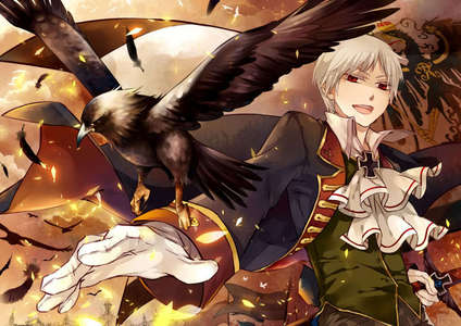 the awesome prussia from hetalia xD hes always on my mind^^