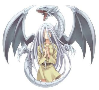 Kisara and Blue eyes white dragon is my お気に入り