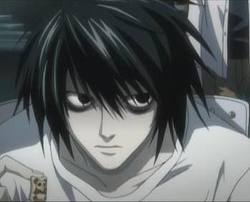 L(デスノート) from death note