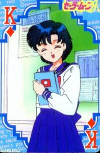 Yes, Sailor Mercury and me share same sign, Virgo. But, my birthday is on 29. August, and Mercury's is on 10. September.