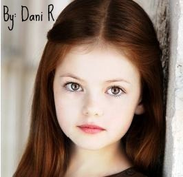 Do te think that Mackenzie Foy looks like Robert Pattinson and Kristen Stewart?