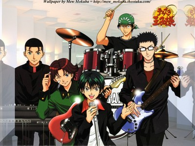the Seigaku Band from Prince of テニス :)