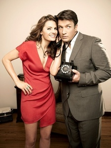 We all hope the same. They could be a super couple if they were together on real life. Anyway, lets keep our hope that someday soon they will. Team Caskett;)