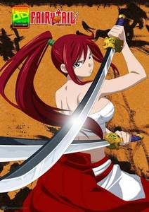 ANIME-~FAIRY TAIL~ CHARACTER-~ERZA SCARLET~