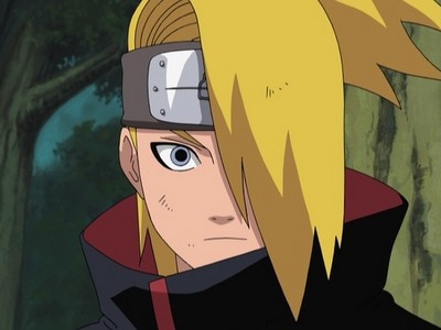 deidara from naruto