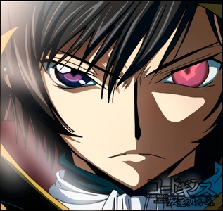 Lelouch from Code Geass. - only one eye is red.