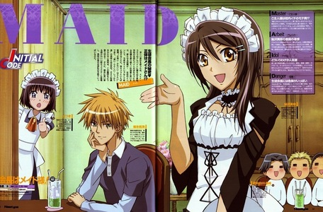 Hehe Maid Sama/Kaichow wa maid sama .... INcludes Misaki, Usui, Satsuki, and the three (3) Bakas/Idiots