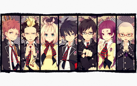 Blue Exorcist. आप probably wouldn't know it, it's an anime.