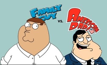American Dad and Family Guy :D