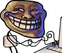 My Interwebz. And mah Trollface stick figure.