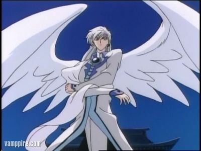 Yue he have wings here u go