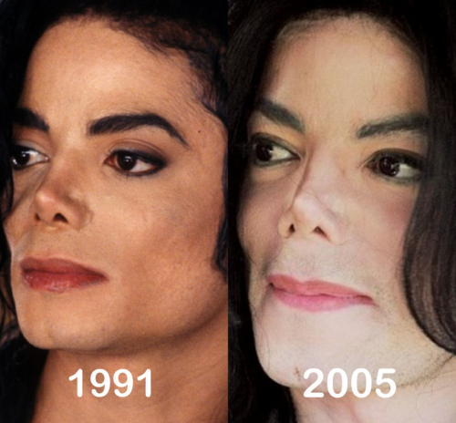 MJ - 1991 vs. 2005 The same beauty! Anybody agrees?