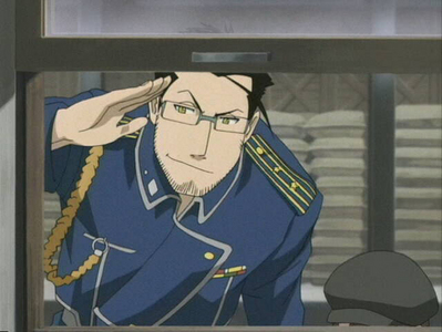 Maes Hughes is... Awesome, Funny, Caring... One of my favorito! characters from FMA. :D