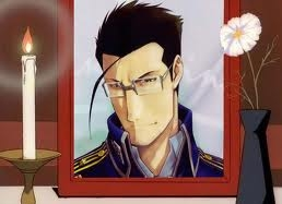 <b>Maes Hughes is....amazing,likable and caring!,one of my favoritos in FMA!...I miss him being in the show,so much!</b>