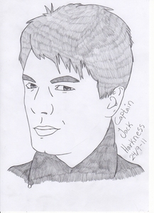 a human from your favourit series........maybe. This is my fav character.....Jack Harkness from Torchwood