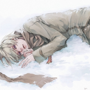 Russia from Hetalia ^J^ But that might have changed in an hour!
