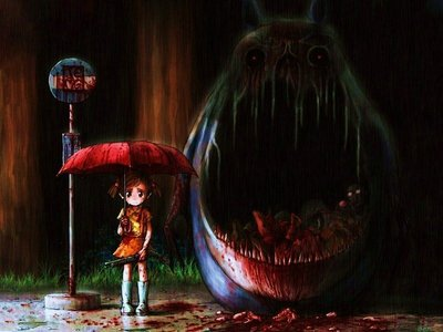 Look closely it's Totoro