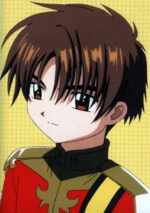 my first アニメ crush is Li Syaoran when i was in grade six.. and then.. Kyou Sohma and Sosuke Sagara