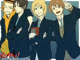 I hope This Counts^^ K-On Male version ALL of them Are so KAWAII