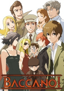 i have watched alot of diffrent animes but my favorito! is baccano! almost no one watches it but it is amazing plus its only 16 ep so its worth a shot (the begging is kinda boring but after a couple of minutos it gets better its a kinda sad but funny and bloody anime :)