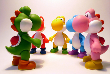 i want a pet yoshi sssssooooooo bad! and i want it light blue