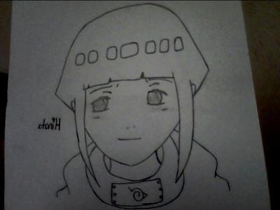 My picture of Hinata, Idk why but its flipped D: