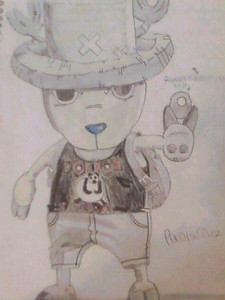 Tony Tony Chopper from One Piece. I drew this at age 10 and I'm 13 now.