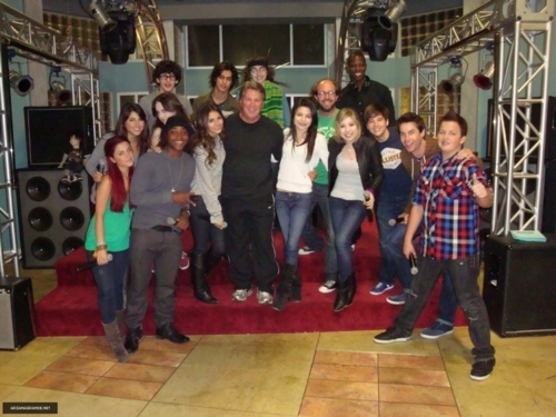 the whole cast -