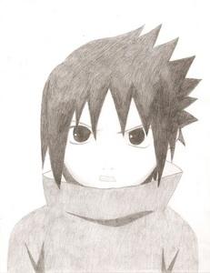 Uchiha Sasuke - Chan <3 BY: ME <33333