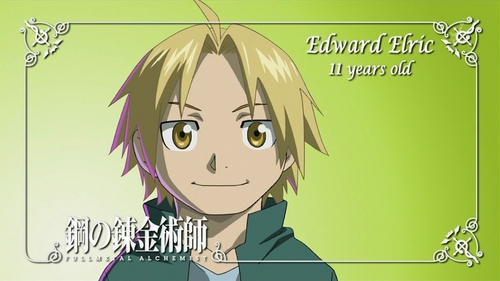 Edward Elric as a little kid!<3