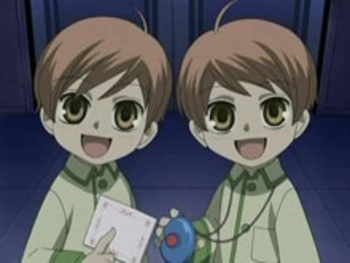 Hikaru and Kaoru. (So cute)
