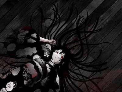 Ai Enma Also known as: Jigoku Shojo/Hell girl.