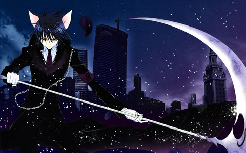 I would say Maka Albarn from Soul Eater, but many of te are going to put her, so here is my 2nd choice: Ikuto from Shugo Chara