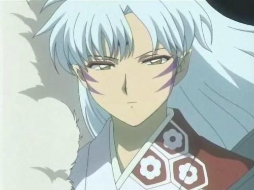 My first アニメ crush was Sesshomaru.For some reason I don't like him anymore.
