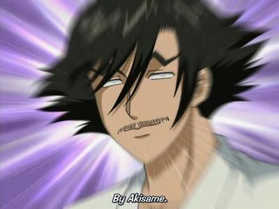 Akisame Koetsuji from Kenichi!