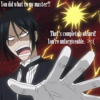 sebastian michealis of Black Butler - Il maggiordomo diabolico i had to post this pic XD