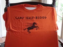 /checks your profiel Hmm, u obviously like Percy Jackson, so why don't u go as Annabeth? :D They have camp half-blood shirts... And if u can't find one they seem easy enough to make.