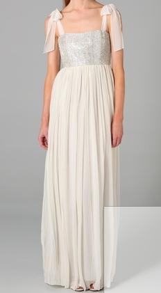 It's gonna be my prom dress, I swear.