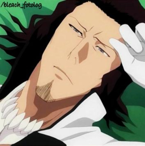 Stark from Bleach is seen Sleeping or just laying about A LOT!