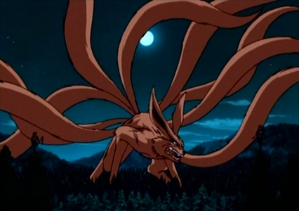 Nine tail volpe from Naruto is a demon of chakra !