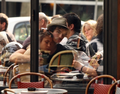 Nian in paris <3