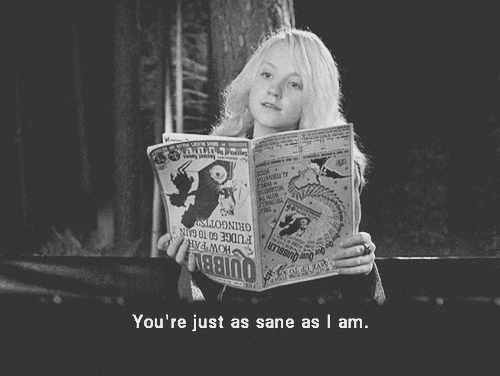 That's difficult; there are so many wonderful female characters in the series! But I think the best would have to be none other than Luna Lovegood :) At a first glance, she may seem simply odd. She believes in nargles and wrackspurts. She reads the Quibbler backwards (although later on in Order of the Phoenix (book) آپ find آپ why ^_^) and she is so very dreamy and spacey. But she's far deeper than that. Luna exhibits an extremely high level of intelligence. In fact, she is every bit as intelligent as Hermione herself! Luna is just intelligent in a different sort of way; whereas Hermione is logical, bookwise, and clever, Luna is deep, intuitive, and perceptive. She sees things in ways that others cannot. She can read people so easily, and she never judges anybody. She is open-minded, kind and caring. She was always herself, and even when people didn't take her seriously, she remained true to her beliefs. She is also extremely tough. People underestimate how tough she is, simply because she is optimistic. However, there is a distinct difference between innocence and optimism; I would not say Luna is innocent, although she is sweet, quirky and optimistic. She's tough. She watched her mum die when she was but nine years old, and yet she remains optimistic. She has been outcast through most of her school years, and yet she is happy. She was kidnapped سے طرف کی Death Eaters and held at Malfoy Manner, where she was likely tortured and certainly treated horribly, and yet she continued to think of others, and she continued to have hope and stay optimistic. That is truly tough. Of course, she is a tough fighter too; at the Department of Mysteries, other than Harry, Luna was the last one standing and able to fight. Luna fought, and survived, the Battle of Hogwarts, where she even, with Hermione and Ginny, helped to fight Bellatrix Lestrange. She is مزید powerful than آپ may think :) Of course, she was never written to be perfect (if a character is written to be perfect, they 