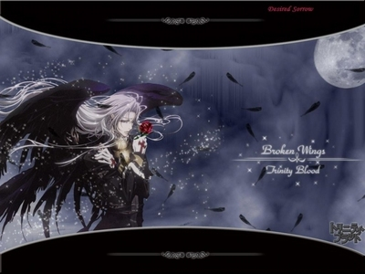 I Amore this picture! Able Nightroad from Trinity Blood.