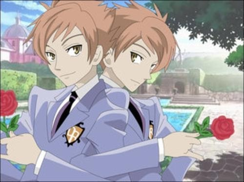Hikaru and Kaoru. They're cute, handsome and funny.